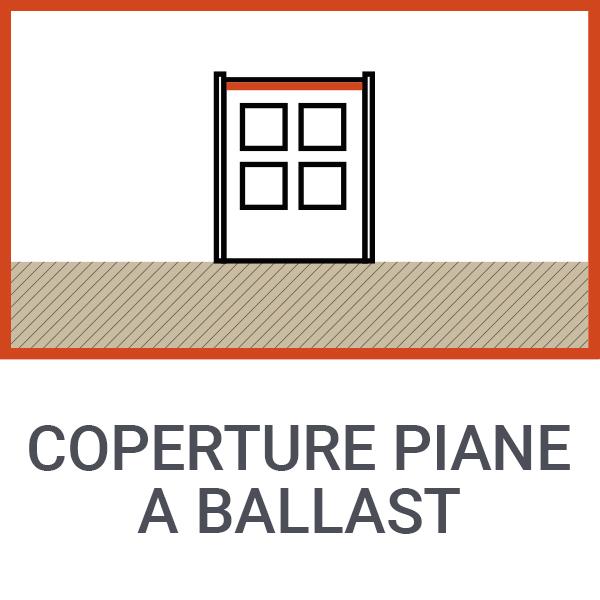 Coperture piane a ballast