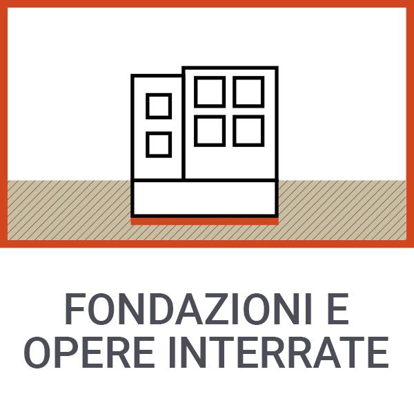 Fondazioni e opere interrate