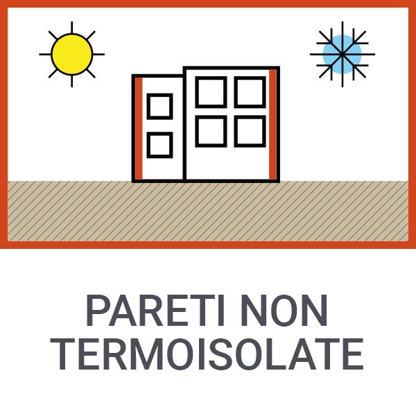 Pareti non termoisolate