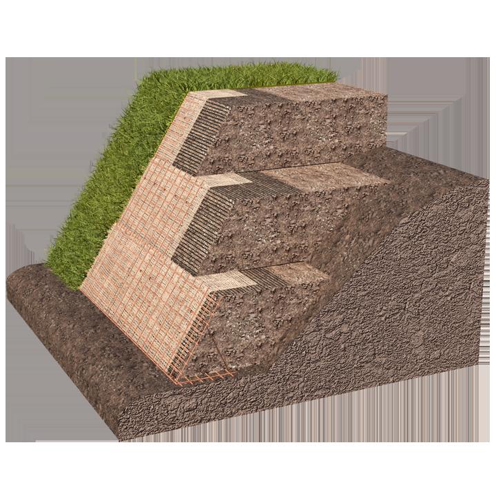 Stratigrafia vigneto in collina