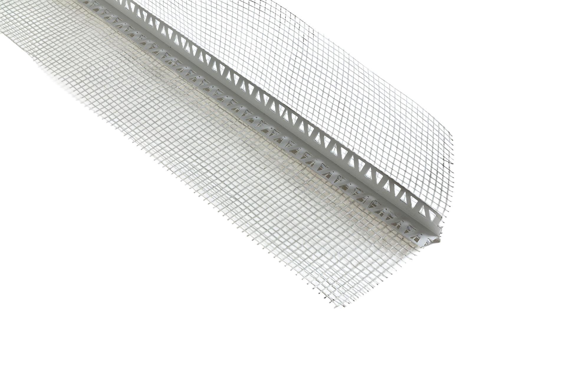 Angolare Plastica Accessorio per rete in fibra di vetro per intonaco