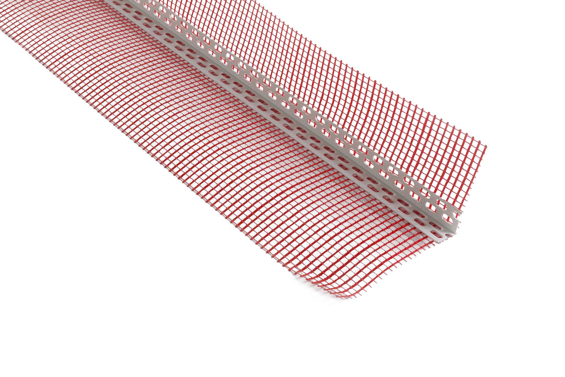Angolare Rompigoccia accessorio per rete in fibra di vetro per intonaco