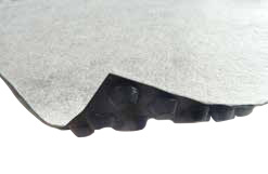 Studded membrane for tunnel applications