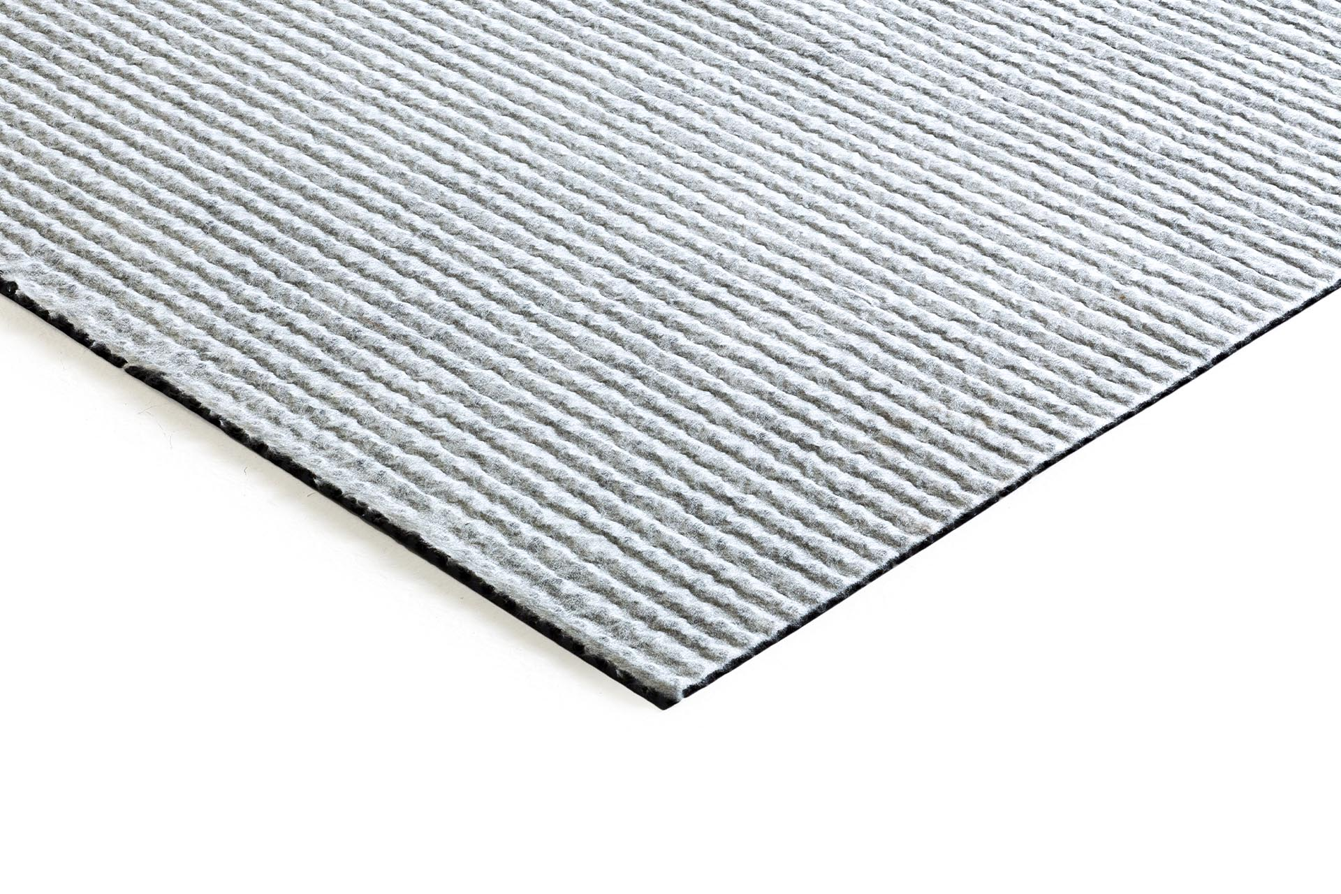 Highly density polyethylene (HDPE) studded membrane, bonded to a filter geotextile