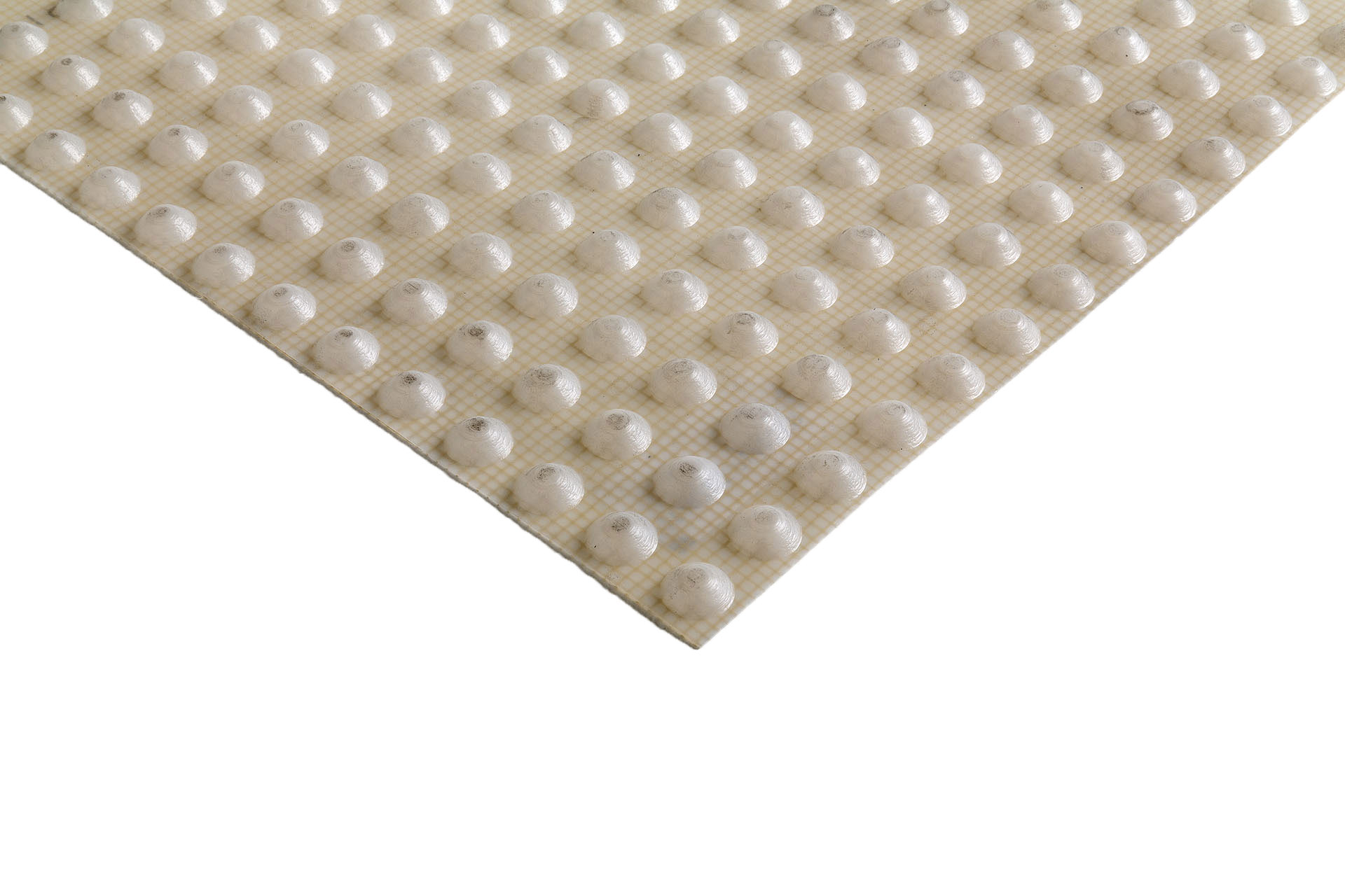 Studded membrane for Interior wet walls