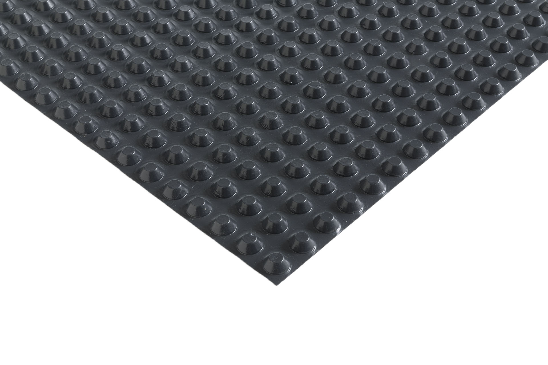 HDPE studded membrane, 8 mm thick, for Foundation and underground structures