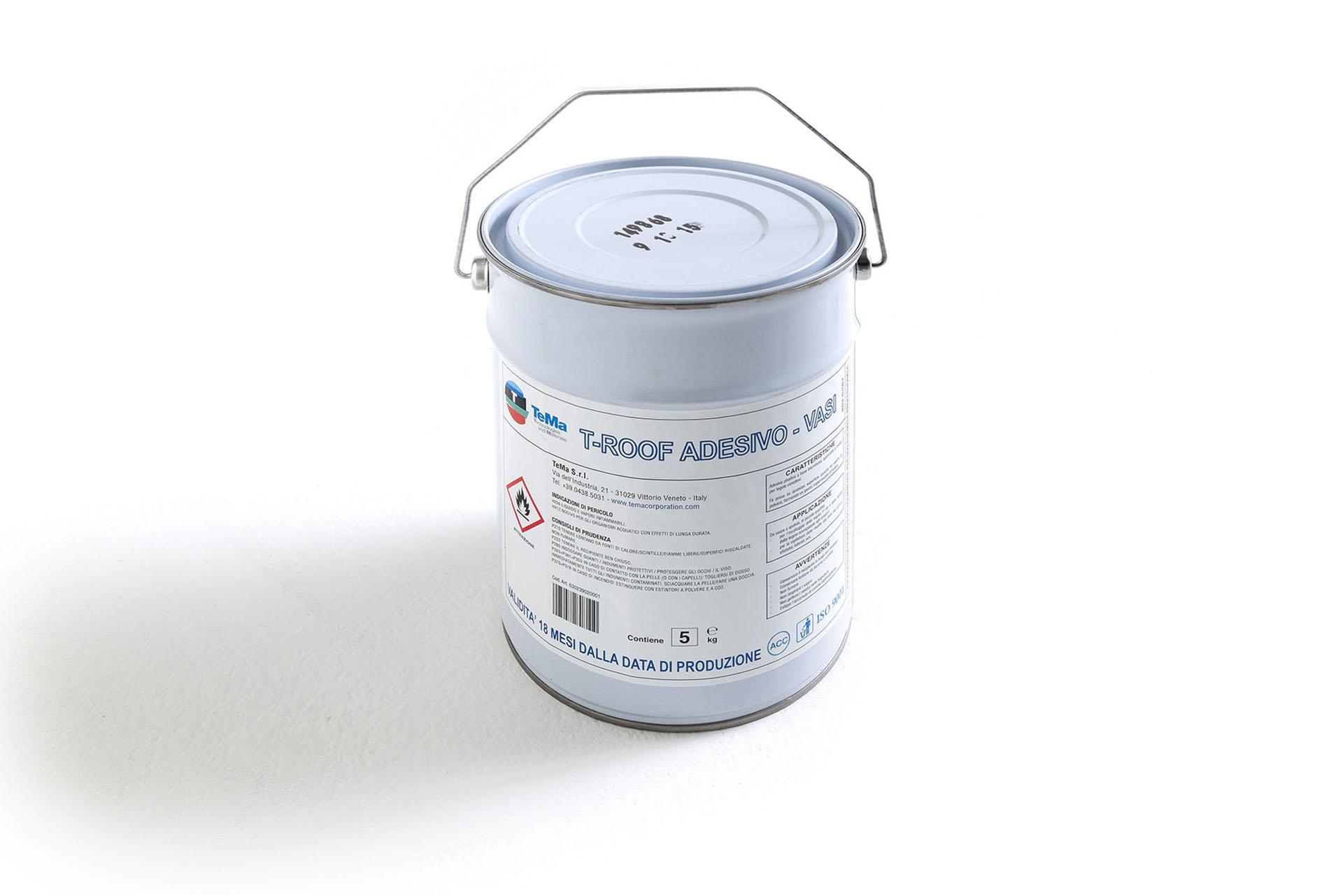 Accessorio: mastice adesivo per tegole bituminose