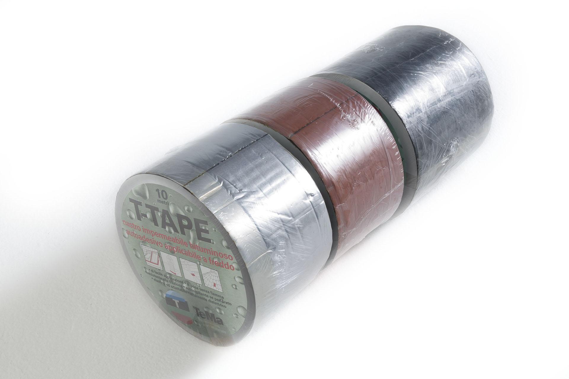 Nastro bituminoso con lamina in alluminio