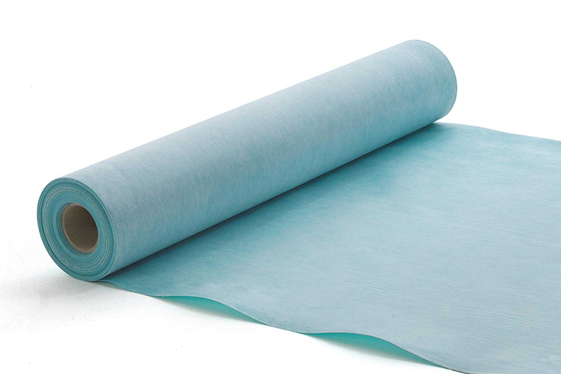 Three-layered waterproofing membrane