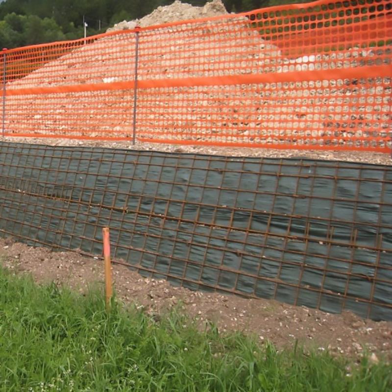 Delimitation of building site areas