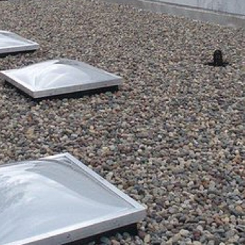 Ballast flat roofs