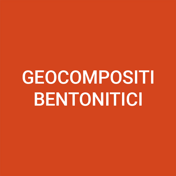 Geocompositi bentonitici