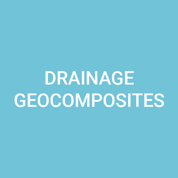 Drainage geocomposites