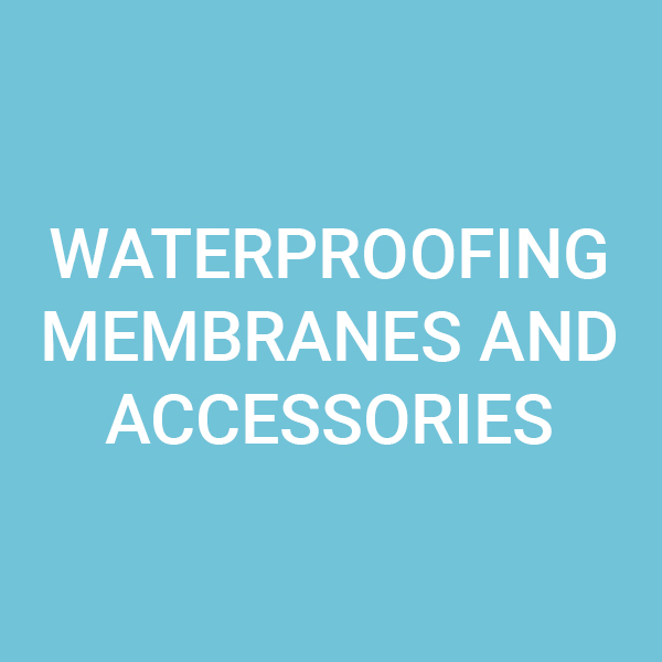 Waterproofing membranes and accessories