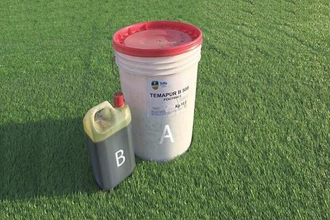 Temapur Football B sistema di incollaggio