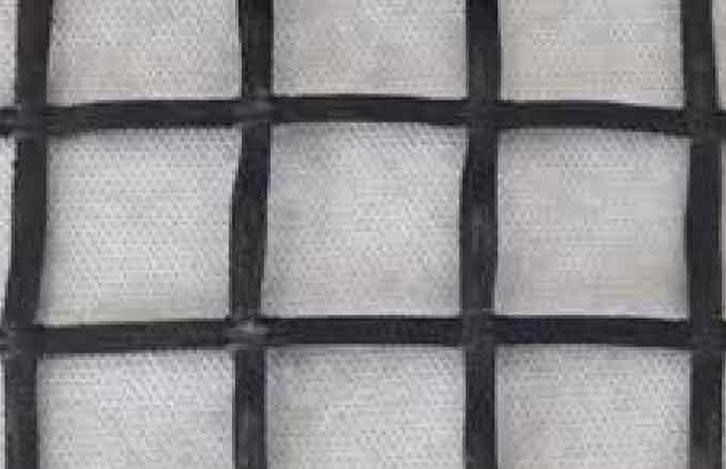 Geogriglia biassiale di rinforzo in fibra di vetro