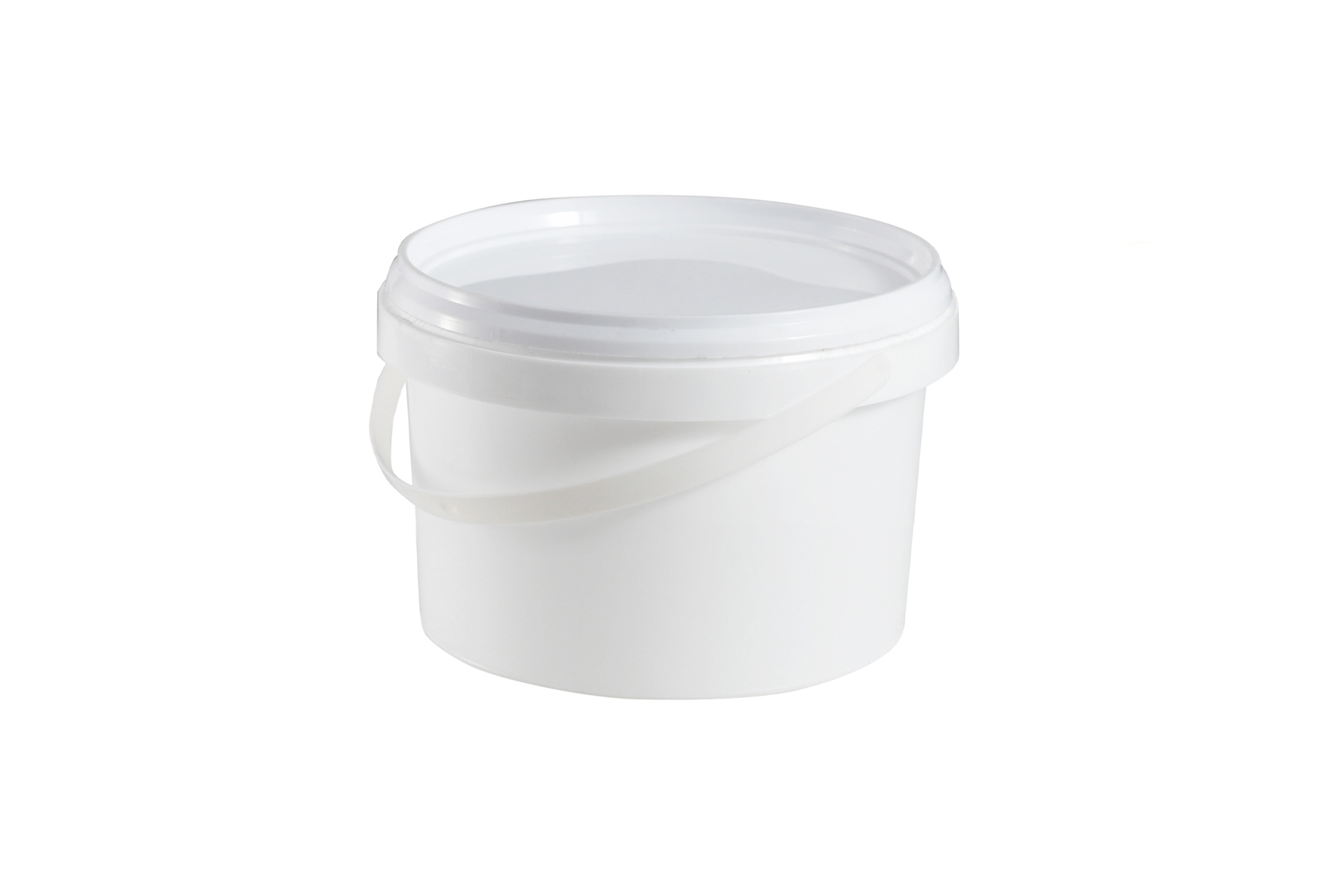 Jar of acrylic-based water dispersion adhesive