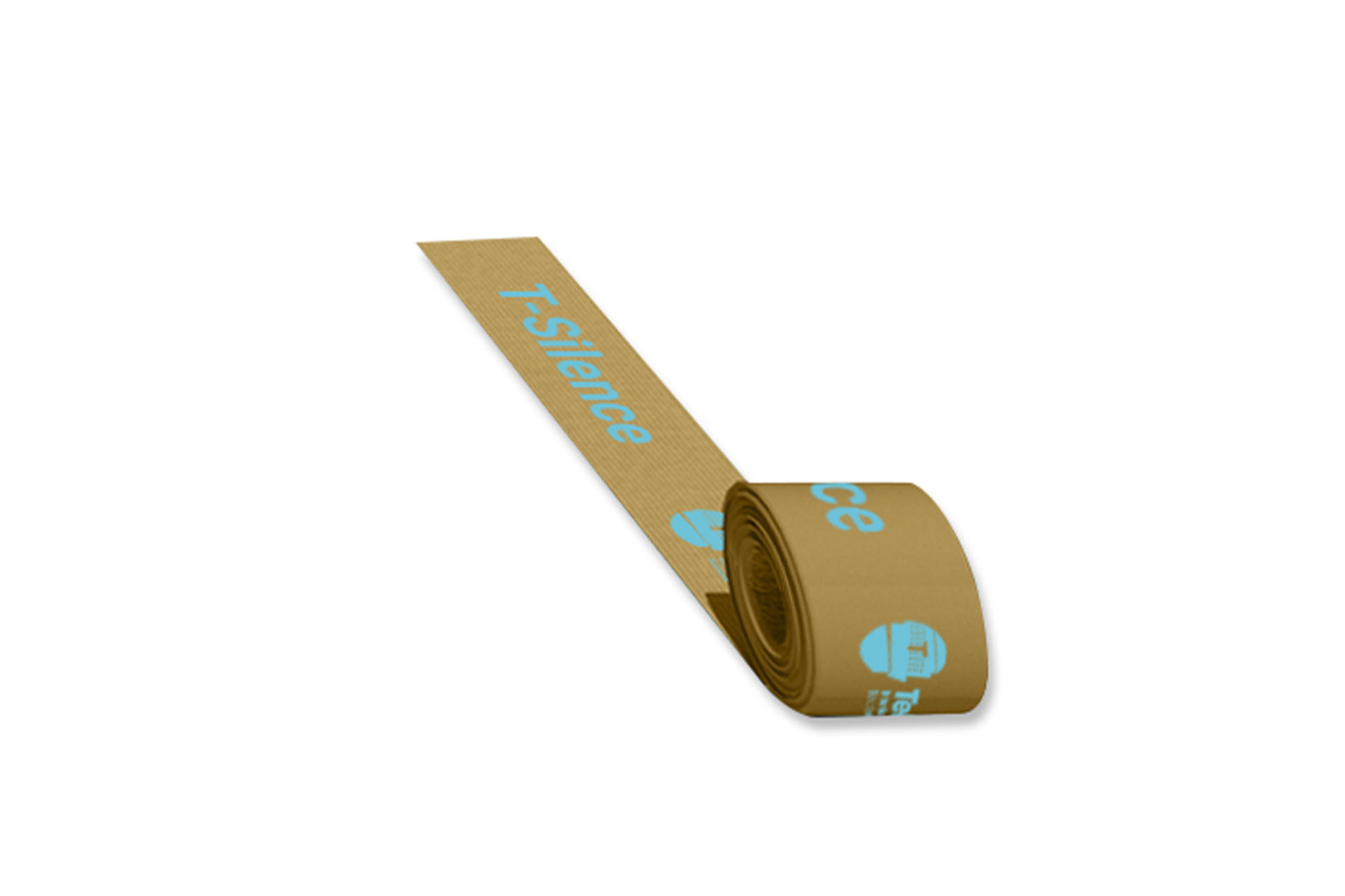 Paper adhesive tape for acoustic insulation