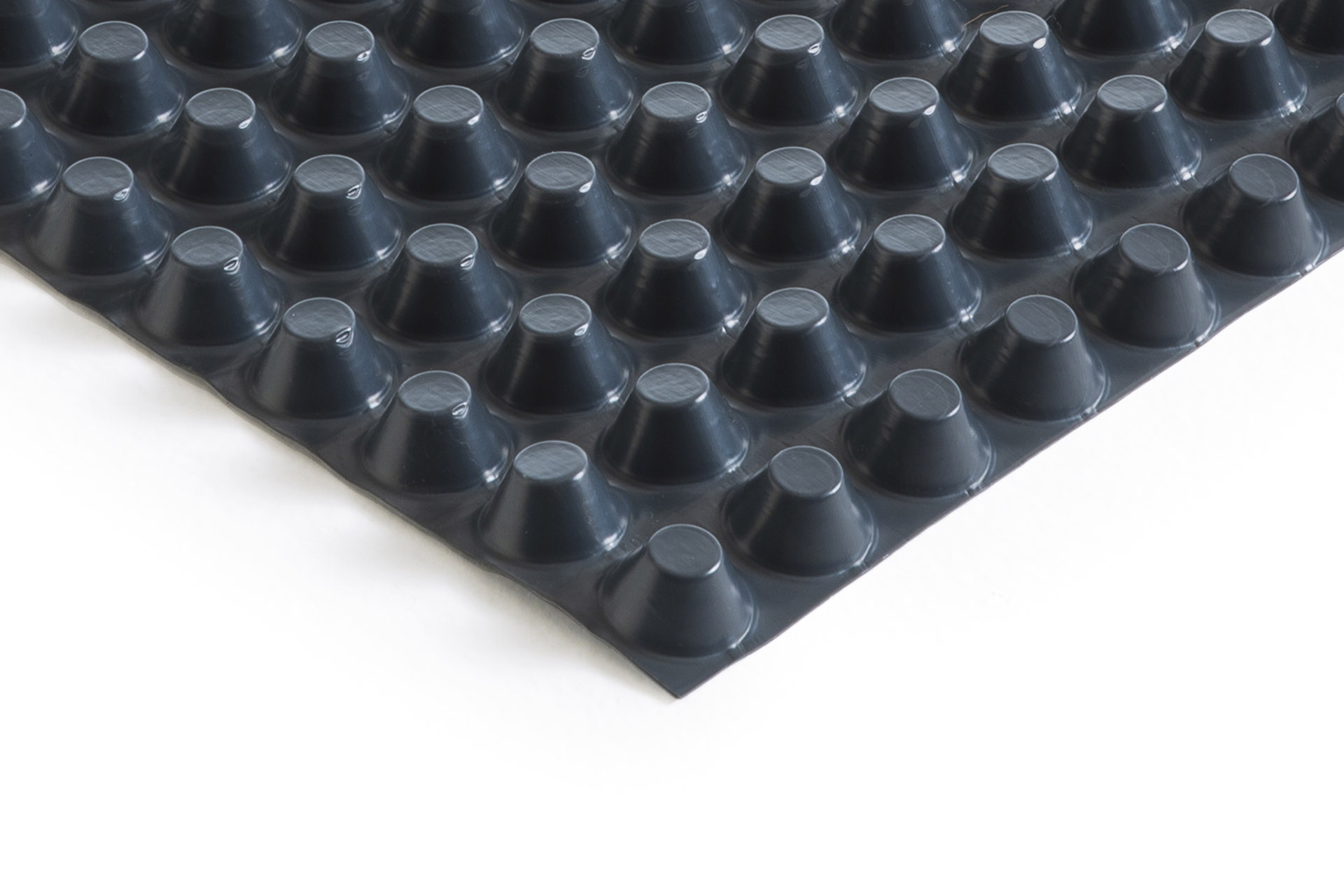 HDPE studded membrane, 20 mm thick