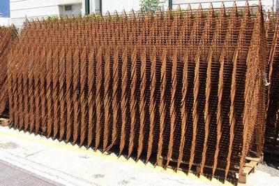 Casseri metallici sagomati per opere in terra rinforzata